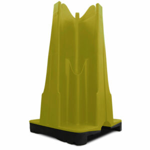 yellow urinal